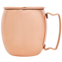 Acopa 16 oz. Moscow Mule Cup with Smooth Copper Finish