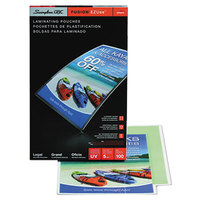 Swingline 3740473CF EZUse 14 1/2 inch x 9 inch Legal Thermal Laminating Pouch - 100/Box