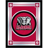 Holland Bar Stool MLogoAL-Ele 17 inch x 22 inch University of Alabama Decorative Logo Mirror