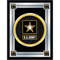Holland Bar Stool MLogoArmy 17 inch x 22 inch United States Army Decorative Logo Mirror