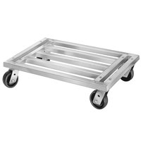 Channel MD2036 36 inch x 20 inch Mobile Aluminum Dunnage Rack - 1200 lb.