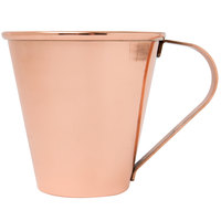 Core 18 oz. Tapered Moscow Mule Cup with Smooth Copper Finish - 12/Case