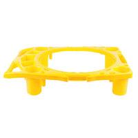 Rubbermaid FG9W8700YEL Brute 44 Gallon Yellow Rim Caddy