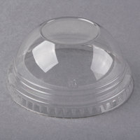 Fabri-Kal DLKC9/10NH Kal-Clear / Nexclear 7 and 10 oz. Clear Plastic Dome Lid - 1000/Case