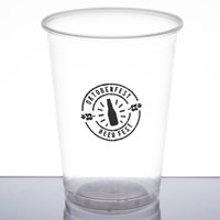 Fabri-Kal NC10 Nexclear 10 oz. Clear Customizable Plastic Cup - 1000/Case