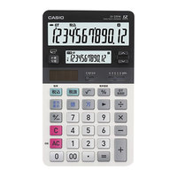 Casio JV220 12-Digit Solar / Battery Powered LCD Dual Display Desktop Calculator