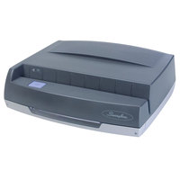 Swingline 9800350 50 Sheet 350MD Gray Electric 3 Hole Punch - 9/32 inch Holes
