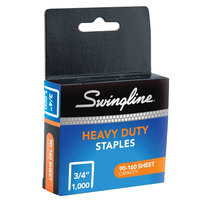 Swingline 35319 100 Strip Count 3/4 inch Heavy-Duty Chisel Point Staples - 1000/Box