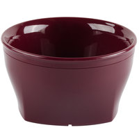 Cambro MDSHB9487 Harbor Collection Cranberry 9 oz. Insulated Plastic Bowl - 48/Case