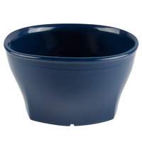Cambro MDSHB9497 Harbor Collection Navy Blue 9 oz. Insulated Plastic Bowl - 12/Pack
