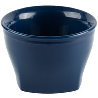 Cambro MDSHB5497 Harbor Collection Navy Blue 5 oz. Insulated Plastic Bowl - 12/Pack