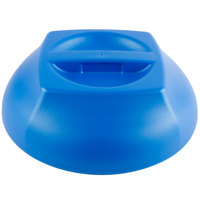 Cambro MDSHD9489 Harbor Collection Metallic Blue 10 1/4 inch Insulated Plastic Dome Plate Cover - 12/Case