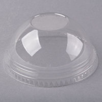 Fabri-Kal DLKC16/24NH Kal-Clear / Nexclear 12 / 14, 16 / 18, 20, and 24 oz. Clear Plastic Dome Lid - 1000/Case