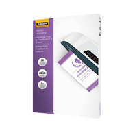 Fellowes 52226 ImageLast 14 1/2 inch x 9 inch Legal Laminating Pouch - 3 Mil - 50/Pack