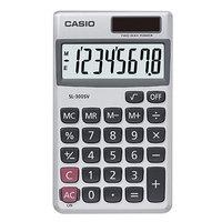 Casio SL300SV 8-Digit LCD Solar / Battery Powered Handheld Calculator