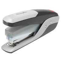Swingline 64580 QuickTouch 28 Sheet Black / Silver Reduced Effort Full Strip Stapler