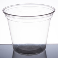 Fabri-Kal NC9OF Nexclear 9 oz. Clear Customizable Old Fashioned Plastic Cup - 1000/Case