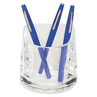 Swingline 10137 4 1/4 inch x 2 3/4 inch Clear Acrylic Pencil Cup
