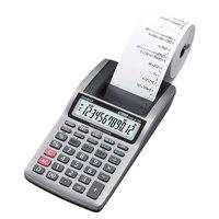 Casio HR8TM Portable 12-Digit Black Printing Calculator - 1.6 Lines Per Second