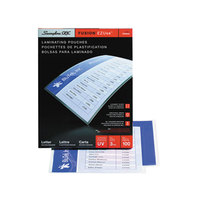Swingline 3745003F EZUse 11 1/2 inch x 9 inch Letter Thermal Laminating Pouch - 100/Box
