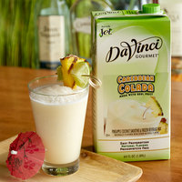 DaVinci Gourmet 64 oz. Caribbean Colada Real Fruit Smoothie Mix