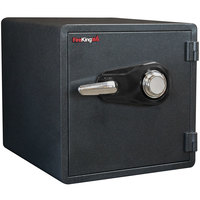 FireKing KY1313-1GRCL Graphite 1 Hour Business Class Fire and Water Safe with Combination Lock - 1.23 Cu. Ft.