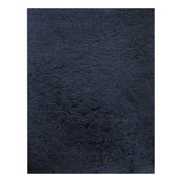 Fellowes 52124 11 inch x 8 1/2 inch Navy Grain Textured Unpunched Binding System Cover - 50/Pack
