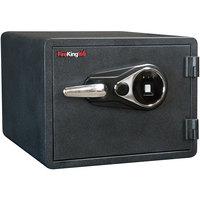 FireKing KY0913-1GRCL Graphite 1 Hour Business Class Fire and Water Safe with Biometric Fingerprint Lock - 0.85 Cu. Ft.