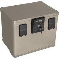 FireKing SS106 SureSeal 1/2 Hour Lockable Fire and Water Chest - 0.6 Cu. Ft.