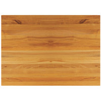 Tablecraft CBW1218175 18 inch x 12 inch x 1 3/4 inch Wooden Butcher Board Chopping Block