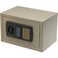 Gary by FireKing HS1207 Light Gray Personal Safe with Electronic Lock and Keypad - 0.3 Cu. Ft.