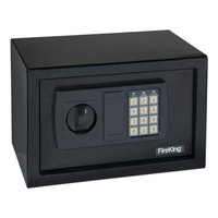Gary by FireKing FIRHS1207 Black Personal Safe with Electronic Lock and Keypad - 0.3 Cu. Ft.