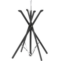 Tablecraft 335WBK Fold-A-Way 35 inch Black Wood Tray Stand