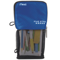 Mead 73990 4 1/2 inch x 8 inch Cobalt Stand 'N Store Pencil Pouch