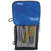Mead 50516CB8 4 1/2 inch x 8 inch Cobalt Stand 'N Store Pencil Pouch