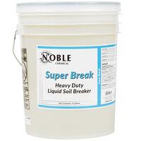 Noble Chemical 5 Gallon / 640 oz. Super Break Alkaline Laundry Soil Breaker