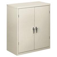 HON SC1842Q Brigade 36 inch x 18 1/4 inch x 41 3/4 inch Light Gray Storage Cabinet