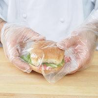Plastic Sandwich Bag 6 1/4 inch x 5 1/2 inch - 1500/Box