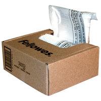 Fellowes 36052 Clear 24 inch x 9 inch x 3 inch 6-7 Gallon Shredder Bag   - 100/Case