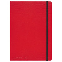 Mead 400065003 Casebound Hardcover Red 8 1/4 inch x 5 3/4 inch Legal Ruled Notebook - 71 Sheets