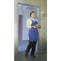 Curtron M106-PR-6686 66 inch x 86 inch Polar Reinforced Step-In Refrigerator / Freezer Strip Door