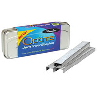 Swingline 35556E Optima 210 Strip Count 1/4 inch Premium Chisel Point Staples - 3750/Box