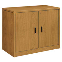 HON 105291CC 10500 Series Harvest 2 Door Laminate Wood Storage Cabinet - 36 inch x 20 inch x 29 1/2 inch
