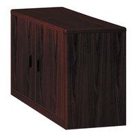 HON 107291NN 10700 Series 36 inch x 20 inch x 29 1/2 inch Mahogany Locking Storage Cabinet