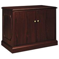 HON 94291NN 94000 Series 37 1/2 inch x 20 1/2 inch x 29 1/2 inch Mahogany Storage Cabinet