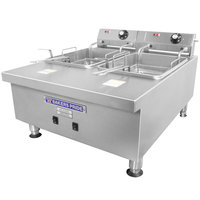 Bakers Pride BPHEF-30TI 30 lb. Electric Countertop Fryer - 208/240V, 5.74/4.48W