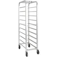 Channel AXD518P Bottom Load Heavy-Duty Aluminum Platter Rack - 12 Shelf