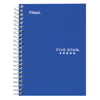 Mead 45484 7 inch x 5 inch Assorted Color College Rule 1 Subject Wirebound Notebook - 100 Sheets
