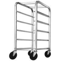 Channel 520SP3 Bottom Load Stainless Steel Platter Rack - 6 Shelf