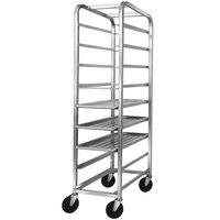Channel 517SP6 Bottom Load Stainless Steel Platter Rack - 9 Shelf